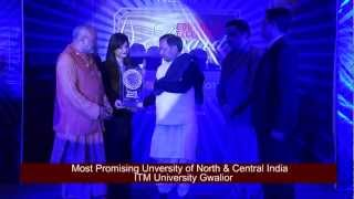 ITM University - Most Promising University of North & Central India