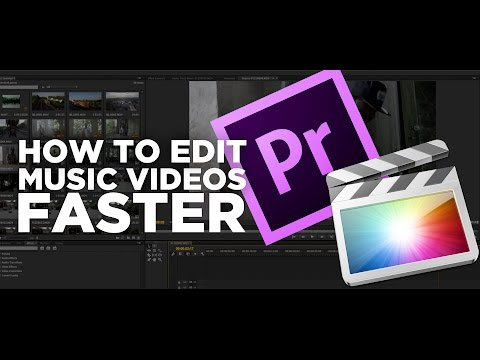 How To Edit Music Videos Faster!
