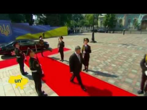 President Poroshenko Inauguration: Chocolate magnate becomes independent Ukraine's fifth president