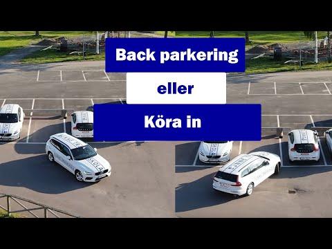 Vilket är bäst, back parkera eller köra in?