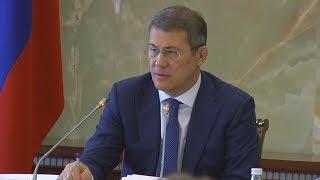 UTV. Радию Хабирову рассказали о том, как решается проблема обманутых дольщиков в Башкирии