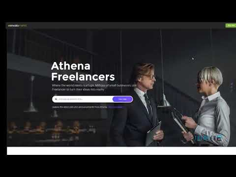 ATHENA - Freelancer and Employers Jobs Search Template        | Free