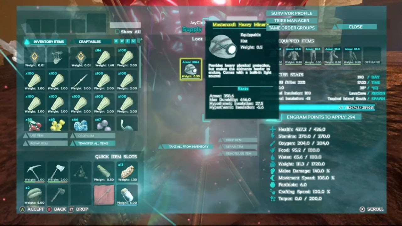 Ark pvp mastercraft heavy miners helmet from loot crate xb1 youtube ark pvp mastercraft heavy miners helmet from loot crate xb1 malvernweather Image collections