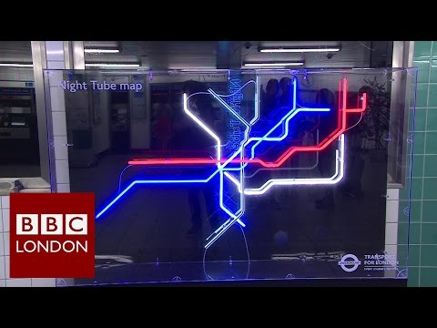 Night Tube: the first weekend - BBC London News