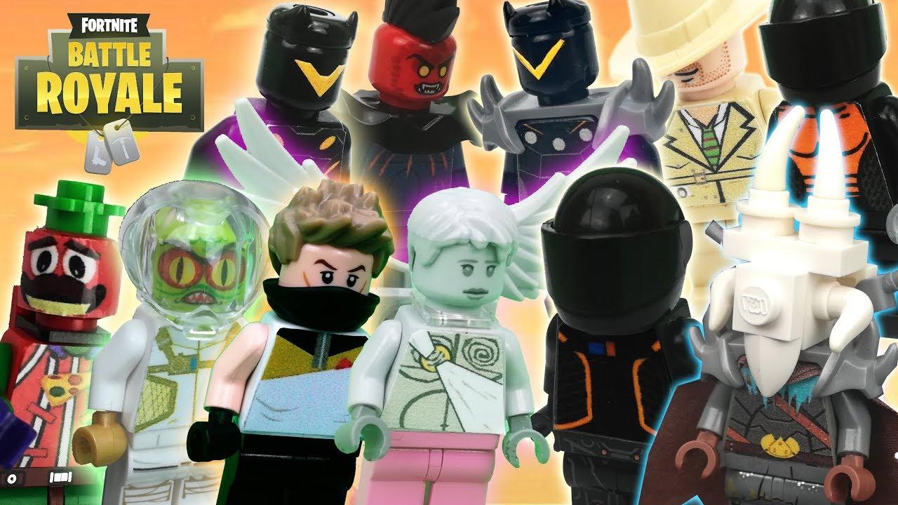 Lego Fortnite Minifigures Ragnarok Love Ranger Drift And More