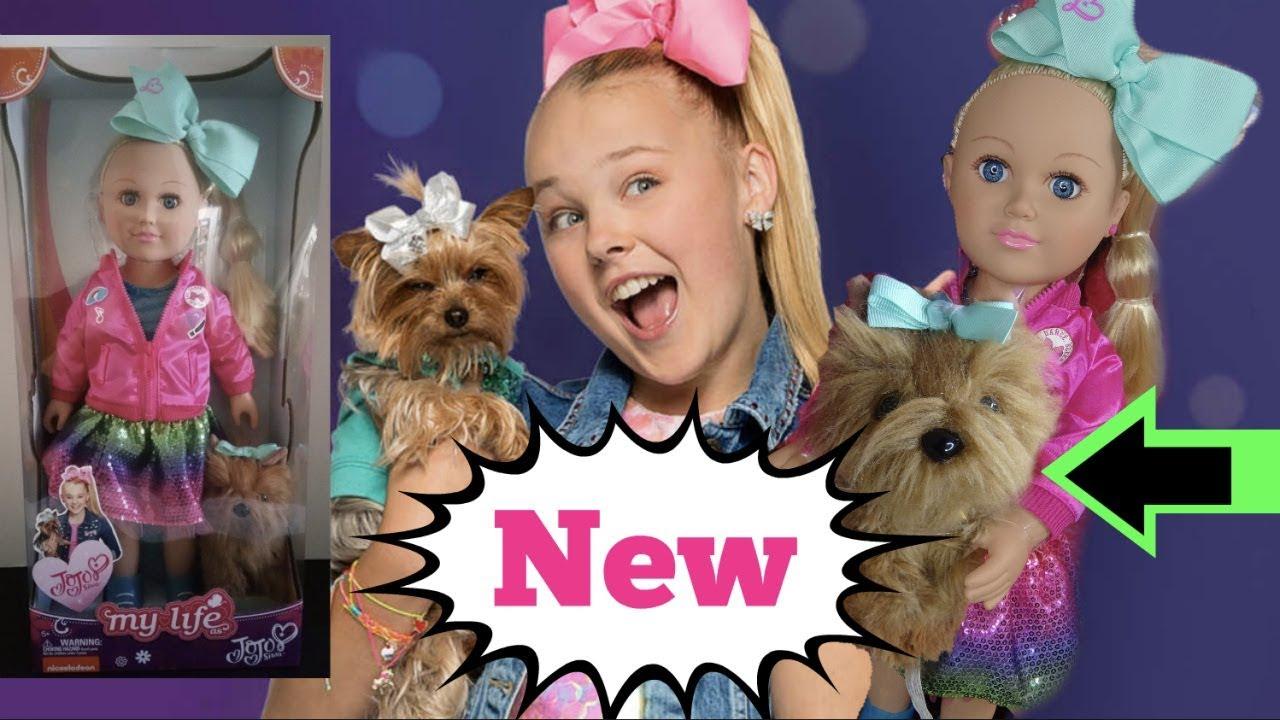 American Girl Ideas Jojo Siwa Baby Doll Plush Dog Bowbow Youtube