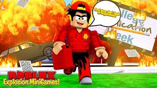 ROBLOX - COOL GUYS DON'T LOOK AT EXPLOSIONS!!