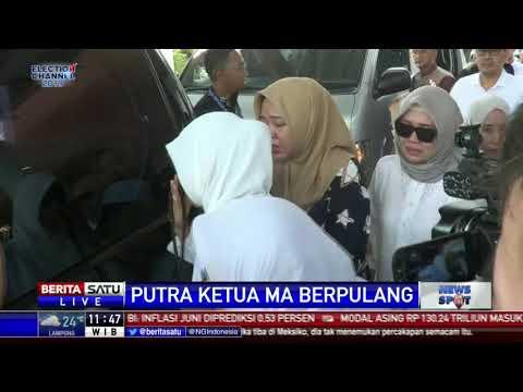 Jenazah Putra Ketua MA Hatta Ali Tiba Di Rumah Duka