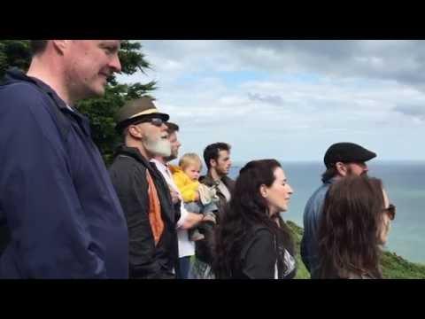 #OnceinDublin cast sing Gold on Howth Head in Dublin