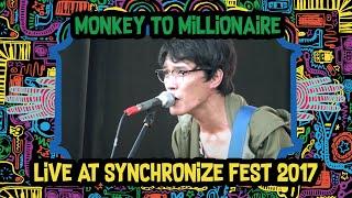 Monkey To Millionaire Live at SynchronizeFest - 8 Oktober 2017