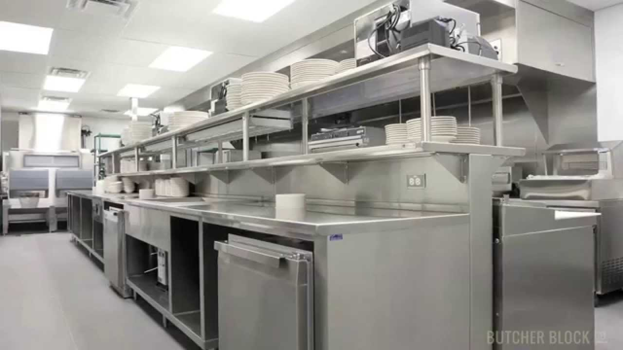 John boos nsf approved commercial sinks butcher block co for Best commercial kitchen designs