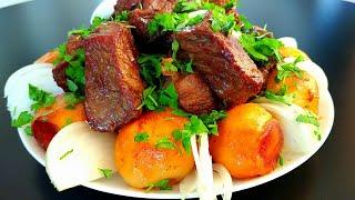 Мясо с картошкой Самый вкусный и простой КАЗАН КЕБАБ Быстрый рецепт