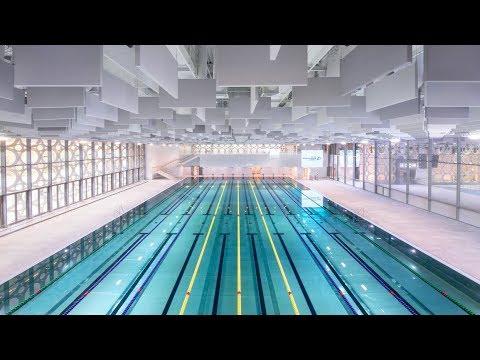 Дворец водных видов спорта открылся на месте Лужников