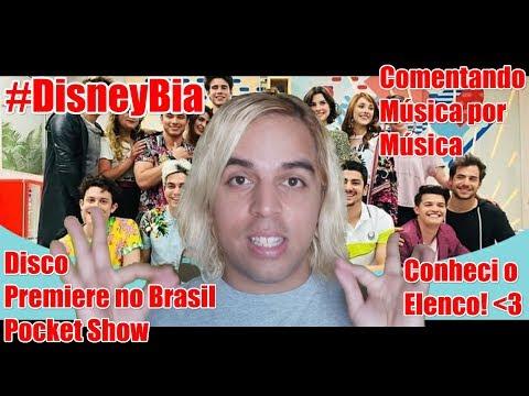 #DisneyBia - Disco e Premiere no Brasil