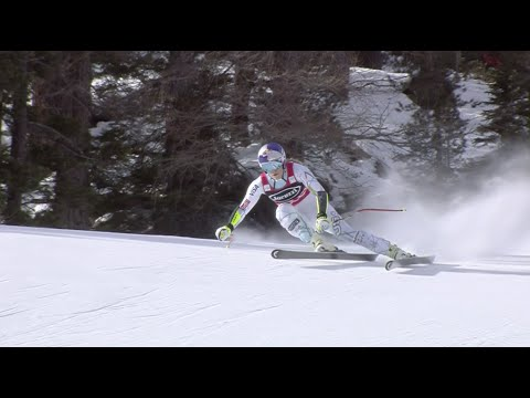 Lindsey Vonn - WINS - Cortina Super G 2016