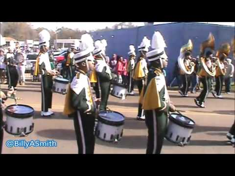 Jim Hill High School Marching Band - 2016 Martin Luther King Parade (Kenneth Stokes)