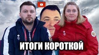 ИТОГИ КОРОТКОЙ ПРОГРАММЫ Девушки Зимние Олимпийские Игры 2020 в Лозанне