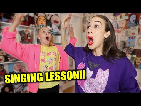 MIRANDA SINGS TEACHES ME HOW TO SING!!!
