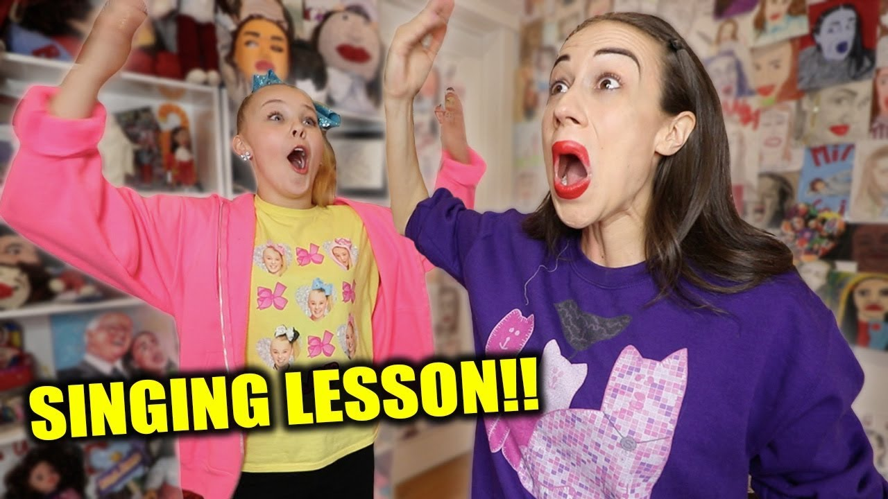 MIRANDA TEACHES ME HOW TO SING!!!