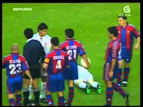 Barcelona vs Real Madrid El Clásico 1996/ 1997 Primera División (Commentario ESP) Ronaldo, Figo
