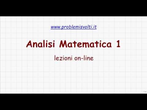 Teorema Dei Valori Intermedi.Analisi Matematica 1 Lezione 17 Teorema Degli Zeri E Dei