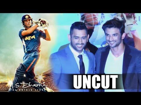 UNCUT - M.S.Dhoni - The Untold Story...