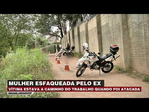 Mulher é esfaqueada por ex-marido em São Paulo