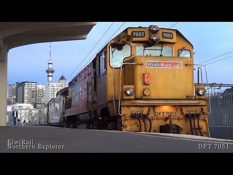 Northern Explorer Part 1 Auckland to Wellington