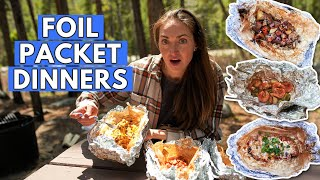 3 FOIL PACKET RECÏPES for Your Next Camping Dinner *these are SO good*