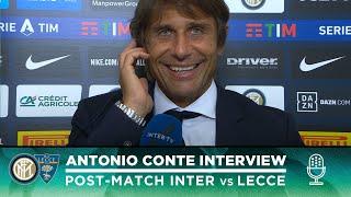 INTER 4-0 LECCE | ANTONIO CONTE INTERVIEW: