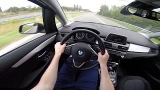 BMW 2 Series Gran Tourer 216d 2015 POV Test Drive GoPro
