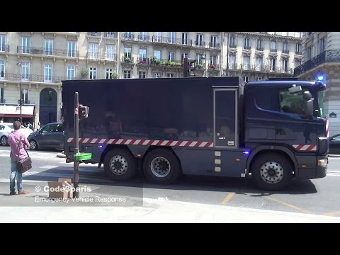 Police Escort Money Transfer in Paris