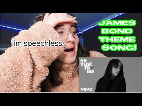 Billie Eilish - No Time To Die REACTION VIDEO