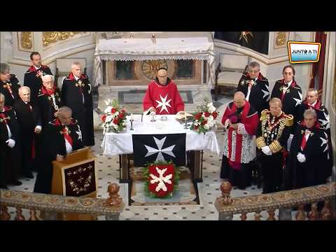 Prince Jorge Rurikovich : Order of Knights of Malta Ceremony OSJ
