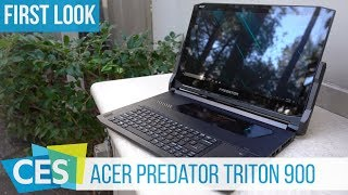 Acer Predator Triton 900 Hands-On: Gaming-Notebook mit RTX 2080 #CES2019