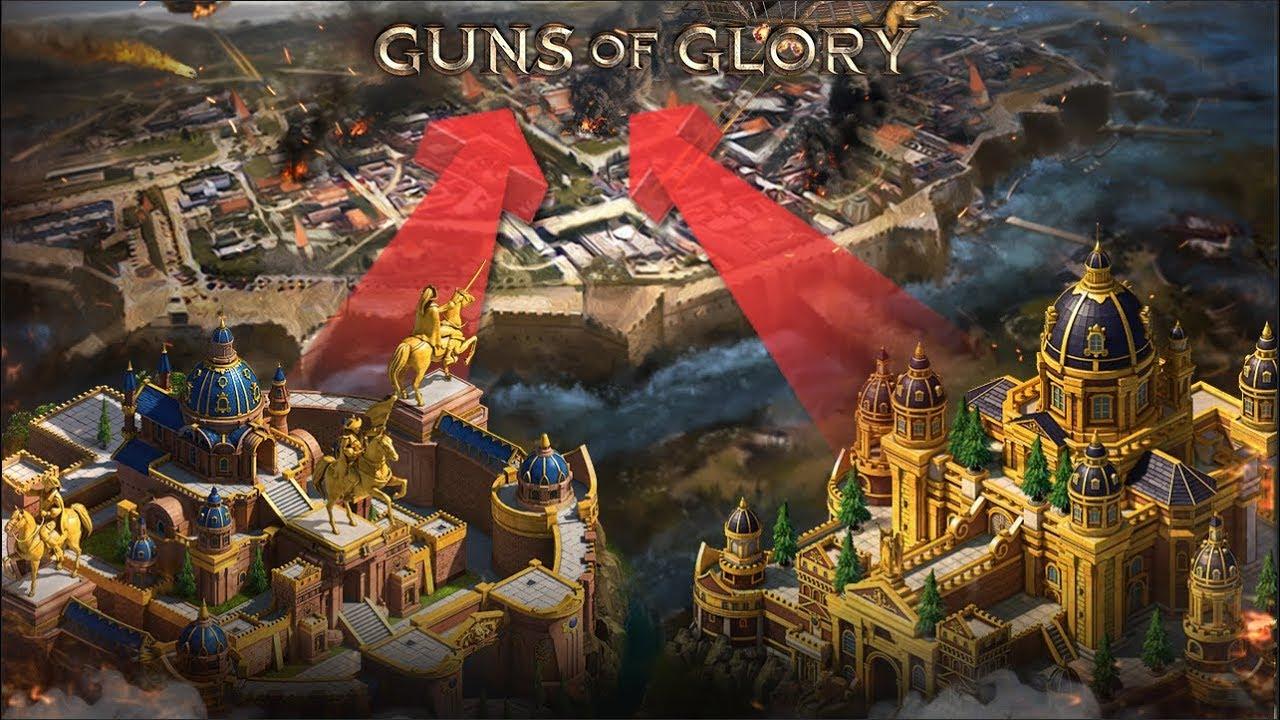 guns of glory чит