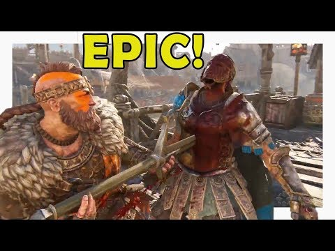 For Honor- *ALL NEW* HIGHLANDER EXECUTIONS AND EMOTES!