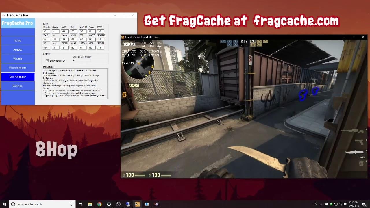 FragCache CSGO Hacks | CSGO Aimbot & ESP Wallhack 2018