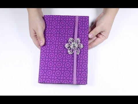 Como hacer fundas para biblia cuaderno o libros youtube for Porta a libro youtube