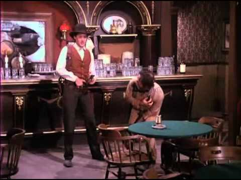 Bruce Boxleitner Clears a Saloon in The Gambler 1980
