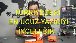 Türkiyedeki en ucuz 3 boyutlu yazıcı (EasyThreed X2)