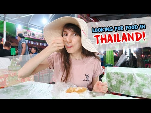 Looking for food in THAILAND - Globe in the Hat #2