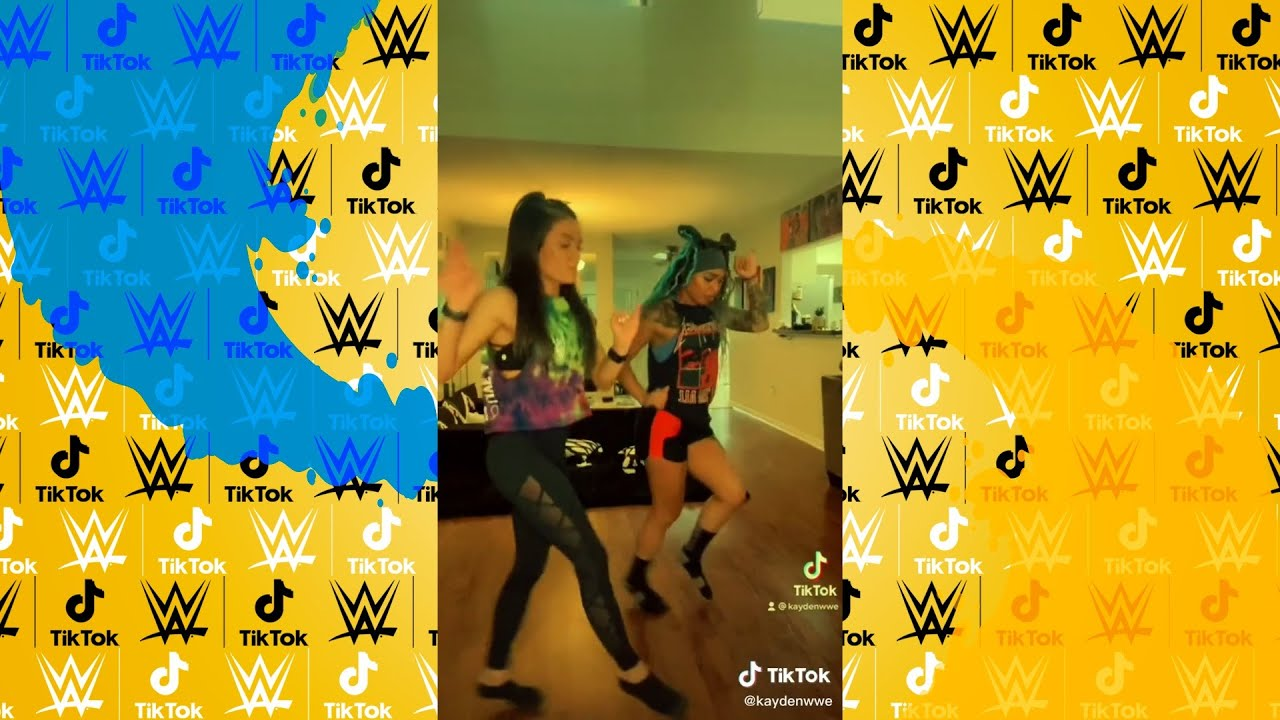WWE NXT Superstars TikTok Dances Compilation