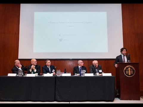 2015 Fall Conference: Litigation Funding: Panel 1