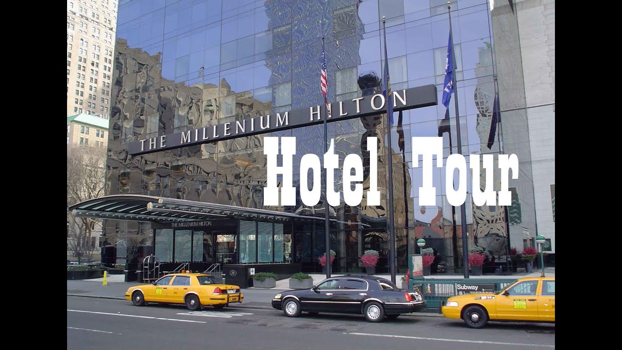 Hotel tour the millenium hilton new york city ny youtube for Hotels tours