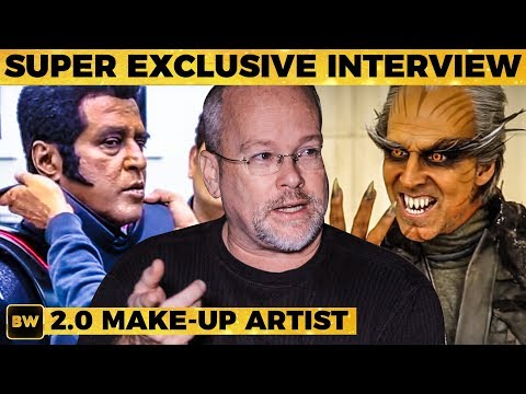 2.0 Rajini's Secret Look - The Man Behind Akshay Kumar's Look   Rajinikanth   Shankar