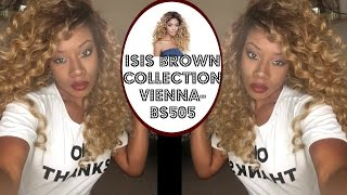 Affordable Glamorous Look + Isis Brown Vienna WIG -BS505