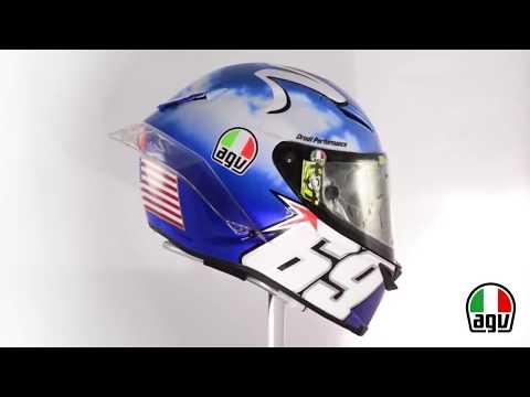 2017 Andrea Iannone AGV Mugello 2017 Nicky Hayden tribute