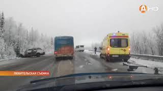 В Мурманской области на дороге произошло страшное ДТП