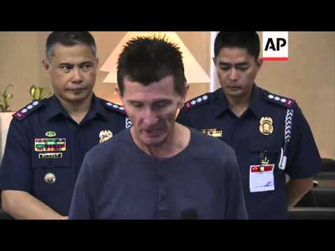 Former hostage Warren Rodwell thanks those involved in securing his release